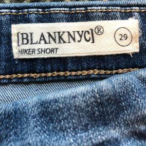 Blank NYC Shorts - Blank NYC Embroidered Jean Shorts